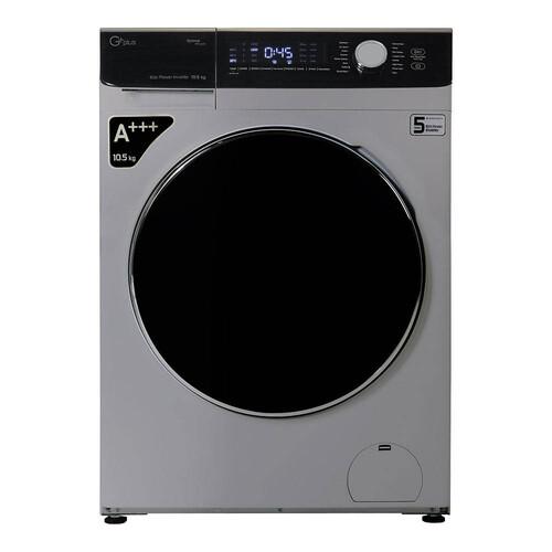 ماشین لباسشویی جی پلاس مدل GWM-K1058 ظرفیت 10.5 کیلوگرم
