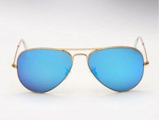 عینک آفتابی ری بن خلبانی شیشه آبی