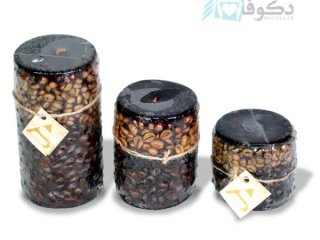 فروش شمع تزئینی با طرح قهوه