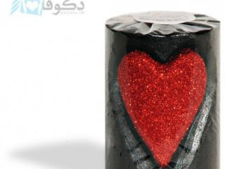 فروش شمع با طرح قلب کندکاری شده