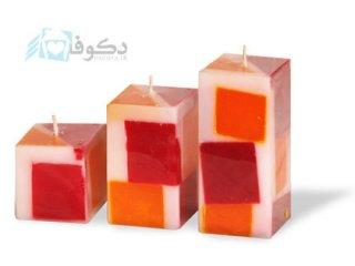 فروش شمع پست مدرن مدل چهل تکه