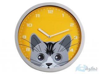 ساعت دیواری گربه کوچولو