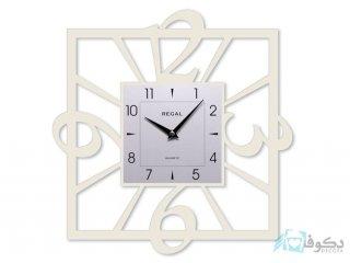 ساعت دیواری regal مدل توسا سفید
