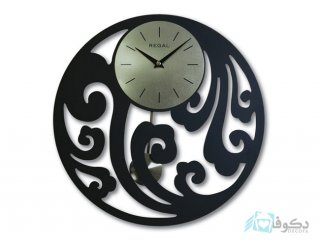 ساعت دیواری regal طرح لوتوس