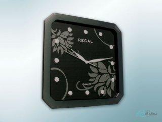 ساعت دیواری regal galet مشکی