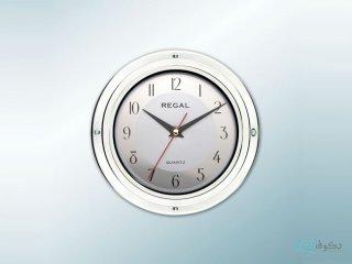 ساعت دیواری regal کلاسیک سفید