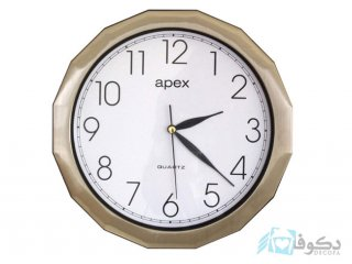 ساعت دیواری apex  A 879 طلایی