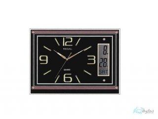 ساعت دیواری REGAL 8154 مشکی