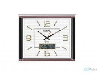 ساعت دیواری REGAL 8153 سفید