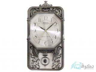 ساعت دیواری REGAL 7021 GPM نقره ای