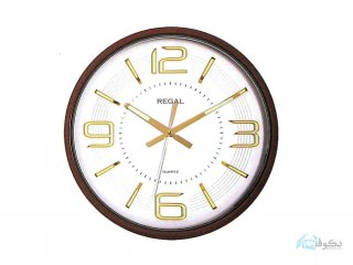 ساعت دیواری REGAL 6187  سفید