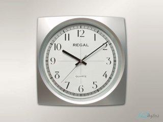 ساعت دیواری REGAL 4042 نقره ای