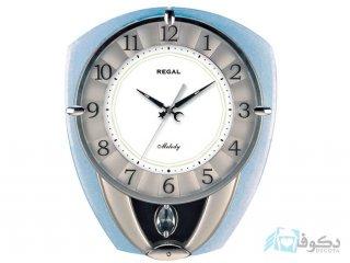 ساعت دیواری REGAL Melody آبی