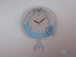 ساعت دیواری پاندول دار عروسکی 54