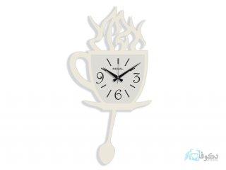 ساعت دیواری Regal طرح فنجان سفید