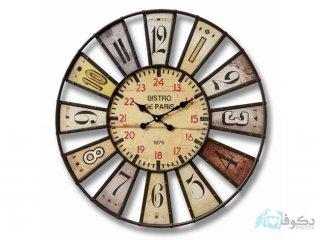 ساعت دیواری چوبی مدل A-3024
