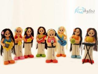 عروسک های نوازنده