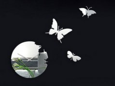 ساعت دیواری مدل پرواز آینه ای