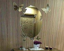 آینه فانتزی پروانه 2