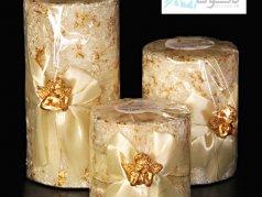 فروش شمع مدل استوانه فرشته