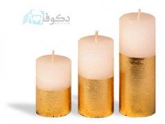 فروش شمع مدل نیم تنه طلا