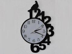 ساعت دیواری مدل لانه پرنده