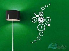 ساعت دیواری آینه ای پیکاسو