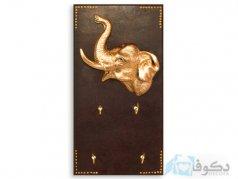 جا کلیدی مدل فیل طلایی