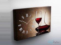 ساعت دیواری تابلوای طرح می