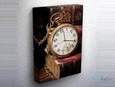 ساعت دیواری تابلوای طرح کلاسیک