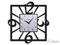 ساعت دیواری regal مدل توسا مشکی