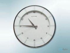 ساعت دیواری ultima کلاسیک سفید