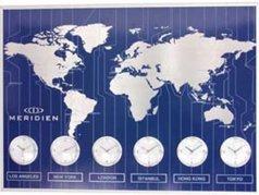 ساعت دیواری Meridien آبی