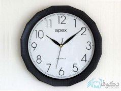 ساعت دیواری apex  A 879 مشکی
