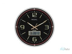 ساعت دیواری  REGAL 8852 مشکی