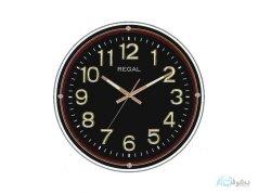 ساعت دیواری REGAL 6552 مشکی