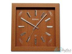 ساعت دیواری REGAL 2504 قهوه ای روشن