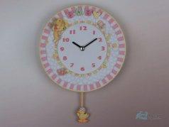 ساعت دیواری پاندول دار عروسکی 57