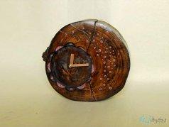 ساعت رومیزی چوبی بهار
