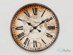 ساعت دیواری چوبی مدل A-3058
