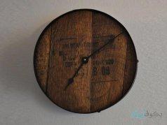 ساعت دیواری چوبی مدل A-3045