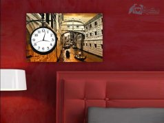 ساعت دیواری تابلوای مدل canvastime30