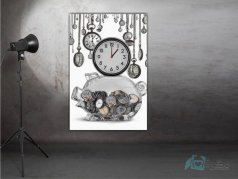 ساعت دیواری تابلوای مدل MT82