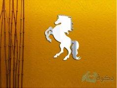 آینه فانتزی طرح اسب