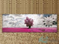 ساعت دیواری تابلوای طرح ابر