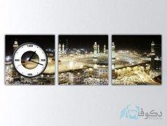 ساعت دیواری تابلوای 3تکه مدل Canvastime PS91