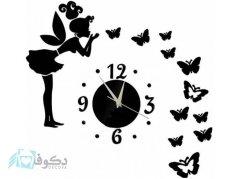 ساعت دیواری فانتزی فرشته مهربان 4