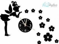 ساعت دیواری فانتزی فرشته مهربان 3