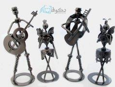 سری مجسمه های موزیکال پیچ مهره ای