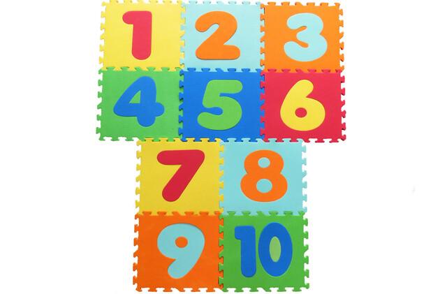 کفپوش پازلی اعداد انگلیسی ( 10 تکه)
